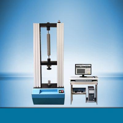工程机械配件弹簧拉压力试验机、挖掘机配件弹簧刚度测试仪、弹簧性能检测设备